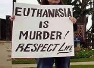 Medical research on euthanasia