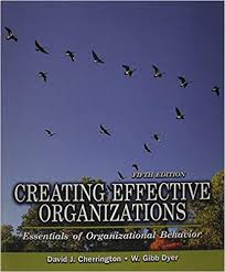 Creating Effective Organizations