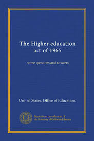 Higher Education Act of 1965