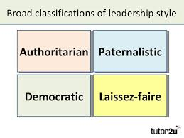 Papers on leadership styles