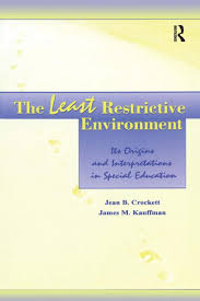research papers on least restrictive environment 61-683 research paper spring 2012 april 22, 2013 co-teaching in the general education classroom-2 needs in a least restrictive environment in a way that works best for the student while also maintaining their regular classroom teaching.