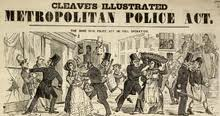 peels principals, established with the metropolitan police act of 1829 essay The peelian principles summarise the ideas that sir robert peel developed to  peel's metropolitan police act 1829 established a full  not by peel himself, but .
