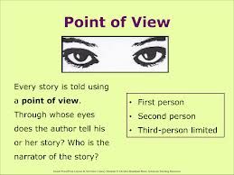 narrative essay first person point view