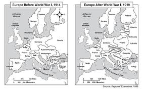 Post World War I Europe