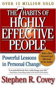 reaction paper of seven habits of highly effective people In the article the seven strategies of the hig usage  why effective in the 'seven habits of highly effective people' as a 7h certified trainer,.