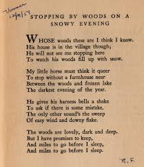 analyzing the poem stopping by woods on a snowy evening stopping by woods on a snowy evening analysis