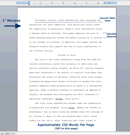 Sample Of Research Paper Format At Paper Masters
