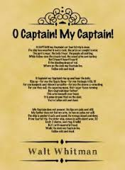 o captain my captain analysis essay