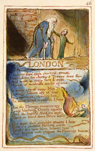 william blake london poem analysis essay